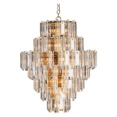 Have to have it. Transglobe 7167 PB Chandelier - Polished Brass - 36W in. $910.1
