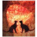 2-Katten-in-rood-licht