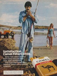 Items similar to 1979 Camel Filters Cigarette Ad Man Smoking Beach Fisherman Jeep Photo Vintage Tobacco Advertising Print Bar Wall Art Retro Decor on Etsy Retro Advertising, Vintage Advertisements, Vintage Ads, Vintage Posters, Vintage Photos, Vintage Cigarette Ads, Jeep Photos, Man Smoking, Smoking Room
