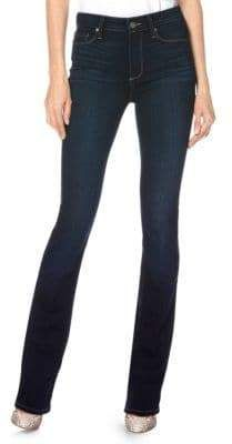 Paige Jeans Manhattan High-Rise Bootcut Jeans High Rise Bootcut Jeans, Skinny Jeans, Med Student, Paige Jeans, Get Dressed, Manhattan, Style Me, Trunks, Stitch