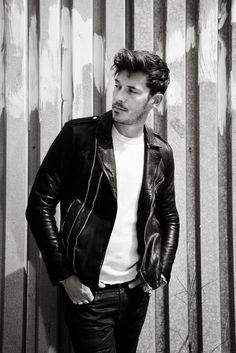 Edge Of The Plank: Sam Palladio for Interview Magazine (Oct 2013)
