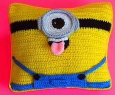 Minion Crochet Pillow Free Pattern