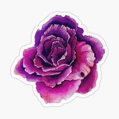 Trendy T-shirt Diy Print Tote Bags Ideas Tumblr Sticker, Party Mottos, Vides, Shirt Quilt, Purple Roses, T Shirt Diy, Printed Tote Bags, Vintage Flowers, Sticker Design
