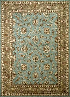 Concord Global Chester Sultan Blue | Traditional Rugs