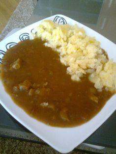 Dětský guláš s bramborem Chana Masala, Ethnic Recipes, Food, Essen, Meals, Yemek, Eten