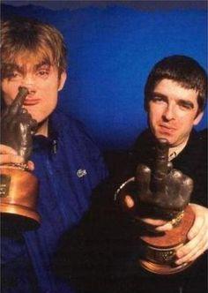 DAMON AND NOEL - NME AWARDS 1994