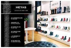LOCALES HEYAS EXCLUSIVOS  en C.A.B.A. y Buenos Aires  (Argentina) www.heyas.com.ar