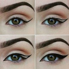 How to Apply Eyeliner. Eyeliner can help make your eyes stand out or look bigger, and it can even change their shape. Even if you've never worn eyeliner before, all it takes is a little practice to take your makeup to the next level! Eyeliner Hacks, How To Apply Eyeliner, No Eyeliner Makeup, Eye Makeup Tips, Smokey Eye Makeup, Makeup Inspo, Beauty Makeup, Eyeliner Pencil, Easy Eyeliner