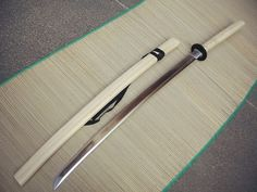 Katana in Ivory Color Saya & Handle (beautiful)
