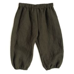 Classic and comfortable bubble pants in soft, natural linen. Strong overlock finished seams with elastic at waistband and cuffs. 100% Linen Made in...