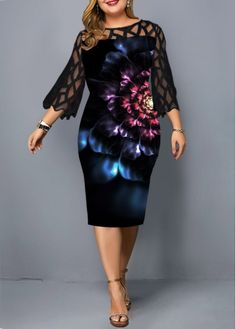 Cheap plus size dresses Plus size dresses online for sale African Fashion Dresses, African Dress, Fashion Outfits, Womens Fashion, Fashion Clothes, Ladies Fashion Dresses, Fall Fashion, Fashion Trends, Panel Dress