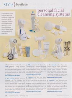 """NAILS"" listed us at #2 for personal facial cleansing systems!"