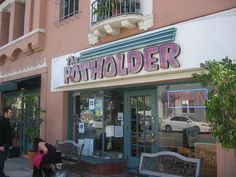 """The Potholder, Long Beach CA. Awesome """"hangover"""" hash browns and other yummies!"""