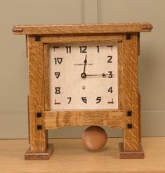 Craftsman Wall Clocks, Mantel Clocks, White Oak, Barn Wood, Sons, Projects To Try, Woodworking, Collection