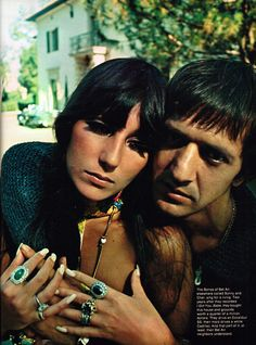 Sonny & Cher ... Esquire magazine, December 1967, I really like this one of them x