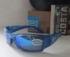 c94b1054322 COSTA DEL MAR sky blue mirror CORBINA POLARIZED 400G sunglasses NEW IN BOX!