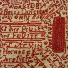 19th century signature cloth