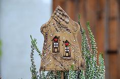 Keramika u Lavender Fire Art, Garden Art, Lavender, Christmas Ornaments, Holiday Decor, Design, Pottery Ideas, Homemade, Christmas