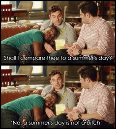 One of my top favorite lines from New Girl. I love Nick.