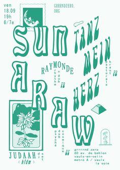 affiche sun araw copie 2911e