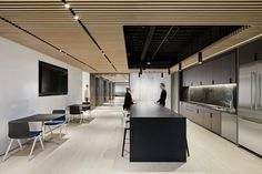 A-Chairs and Circo Stools from Davis Furniture in the Boston Properties Office - designed by Fogarty Finger