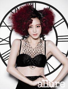 Han Ye Seul Allure Korea Magazine