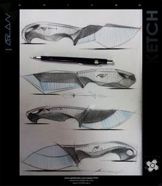 knives Knife Drawing, Knife Template, Knife Patterns, Diy Knife, Cane Handles, Neck Knife, Patent Drawing, Knives And Swords, Survival Knife