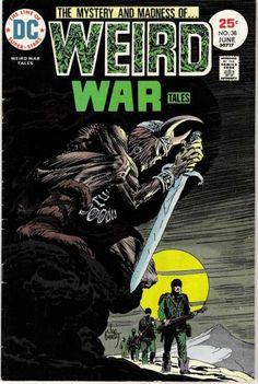 Weird War Tales #38, Joe Kubert