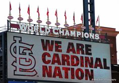 We are Cardinal Nation - just sayin'