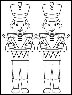 FREE Printable Christmas Coloring Pages - page 2