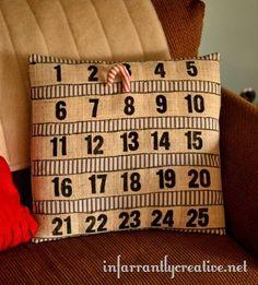 10 calendriers de l'avent à coudre
