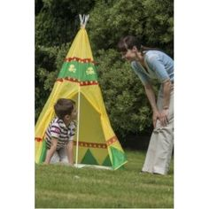 This wild west themed tee pee play tent is perfect for children to play cowboys and Native Americans. Shop for playtents on gardengames. Tee Pee, Wild West, Pop Up, Native American, Tent, Play, Outdoor Decor, Store, Popup