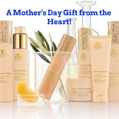Hi, so mother's day is coming, your wife deserves the best. Why not get her skin and body care that is pure, safe and beneficial. Arbonne has exciting new lines to offer for the softest, smoothest and younger looking skin. Please message me for more details and to get your wife the gift that shows how much you care. http://LindsayClarke117522999.arbonne.com/