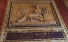 """""""Dardana qvi paridis direxti tela manusque corpus in aeacidae"""" """"Dardana who ... against the ... body of Aecidae"""""""