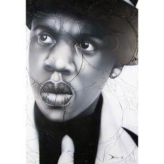 Jay Z - Hova by Thomas Evans of Detour Art Studio