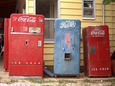 I would love an old Coke machine at my house