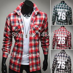 Find More Casual Shirts Information about New Hot !!Free Shipping wholesale High Quality Stylish Casual Shirt  PLAIDS Mens Dress Shirts Mens Long Sleeve Shirts with Print,High Quality shirt long sleeve men,China shirt chelsea Suppliers, Cheap shirt cartoon from New More One on Aliexpress.com
