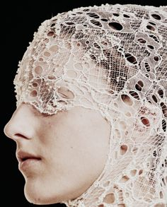 The Alexander McQueen Spring/Summer 2012 collection, was to me a continuation from Spring/Summer 2010, the idea that the models have undergone a tragic event of being on a sunken ship and they had to adapt underwater in order to live on. Alexander McQueen started the story and now Sarah Burton has showcased the next chapter. Attention to detail was a prominent element of this collection. Coral, crystals, and mother-of-pearl decorated the surfaces of these mythical garments.  In the beginning…