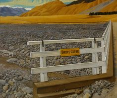 on NZ Museums New Zealand Landscape, New Zealand Art, Nz Art, Rest Of The World, Artist Painting, Landscape Paintings, Countryside, Oil On Canvas