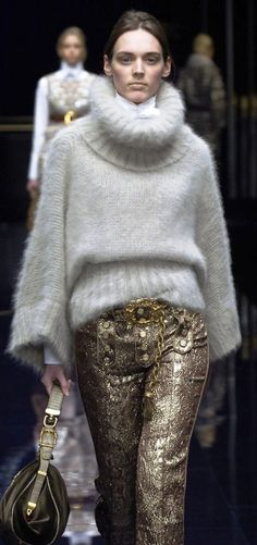 Dolce & Gabbana  They always say fashion repeats it self but I think 1492 wants it's pants back.