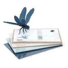 Una libélula de madera para construir uno mismo