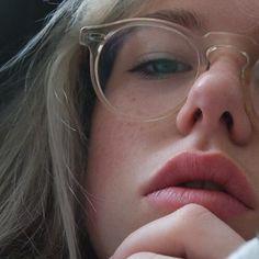 lentes transparentes