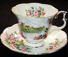 Royal Albert ENGLANDS GLORY Rose Roses  Tea cup and saucer Teacup