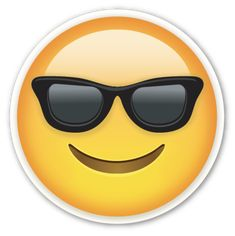 Image with transparent background, Yellow Emoji Face Smiling Sunglasses Emoticon Photo without background its from Signs category, PNG file easily with one click Free HD PNG images, png design with high quality.