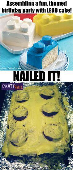 And i accept it. random humor food fails, fail nails и bakin Humor Videos, Baking Fails, Birthday Girl Pictures, Food Fails, Fail Nails, Funny Cake, Cake Wrecks, Pinterest Fails, Lego Cake