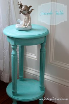 Silver Pennies: A Seaside Table (Before & After)