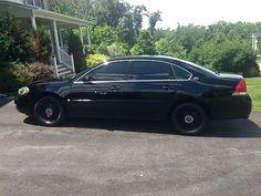 impala 9c1 | 2007 CHEVY IMPALA POLICE 9C1 BLACK 75k, US $6,050.00, image 1