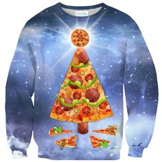 The best gift you could ask for this holiday season.    #shelfies #pizzachristmastree