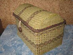 Návody - TRUHLA :: Moje pletení z papíru Hanča Čápule
