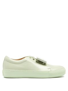 a1f777114ff ACNE STUDIOS Adriana TurnUp leather trainers. #acnestudios #shoes #sneakers